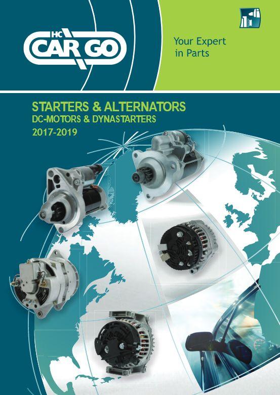 Catalog CARGO pentru electromotoare si alternatoare